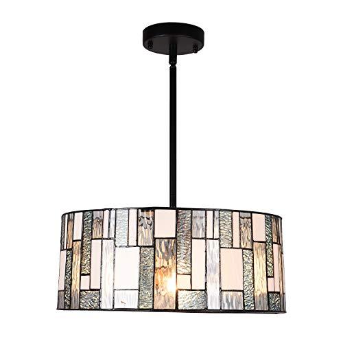 Artzone 2-Light Tiffany Style Pendant Lighting 16 inch...