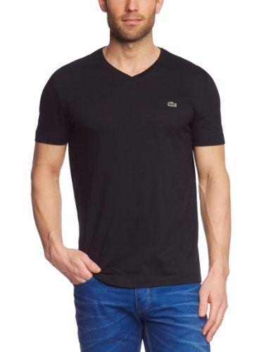 Lacoste Herren TH2036-00 T-Shirt, Schwarz (Black 031), X-Large (Herstellergröße: 6)