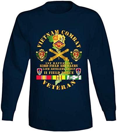 3XLARGE - Army Vietnam Combat Save money Sale Veteran 54th 1st Bn 83rd Fa W