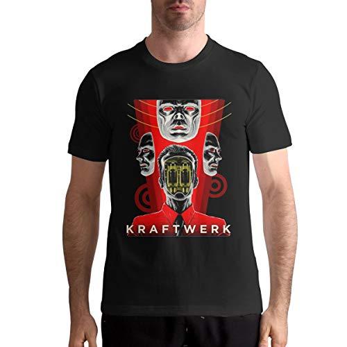 Men's Unique Kraftwerk Graphic T-shirt, S to 4XL