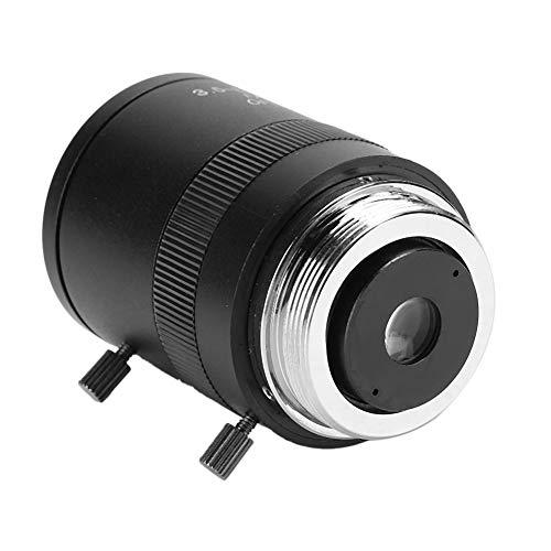Lente de apertura manual de la cámara, distancia focal de 3,5-8 mm, lente HD de 720p, aleación de aluminio, montaje CS, F1.4, baja distorsión, sistema de seguridad, para cámara