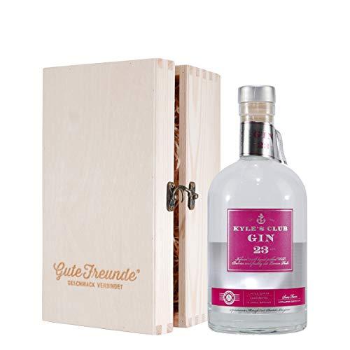 Kyle's Club Gin 23 Att. mit Geschenk-Holzkiste