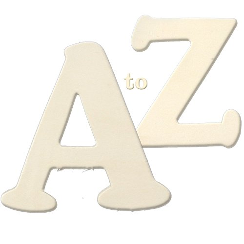 Wooden Letter, Unfinished Plywood, 3-inch, 26-Letters, Full Set A to Z