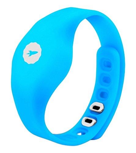 SPC Fit Pulsera de Actividad, Unisex, Azul, Talla Única