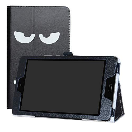 LFDZ Huawei MediaPad M3 Lite 8.0 Hülle, Schutzhülle mit Hochwertiges PU Leder Tasche Hülle für Huawei MediaPad M3 Lite 8.0 Tablet,Don't Touch