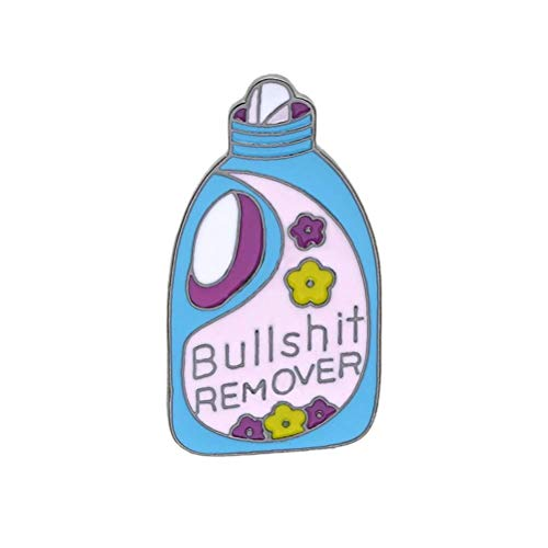 Broches Baratos Regalos Broche unisex Creative Laundry Liquid Bottle Detergent Dripping Oil...