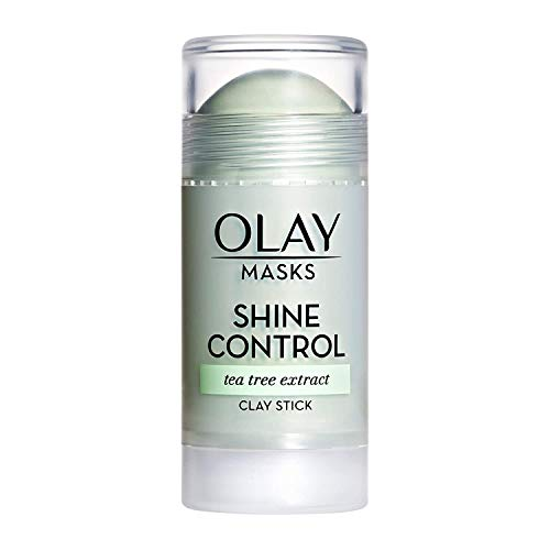 Face Masks by Olay, Clay Charcoal Facial Mask Stick, Pore Detox Black Charcoal, Spa and...