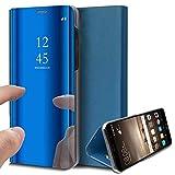 Caler Custodia Compatibile per Samsung Galaxy S8, con Specchio, Trasparente e Cristallo, C...