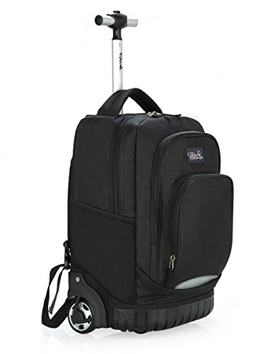 Our #5 Pick is the Tilami Kids Rolling Backpack