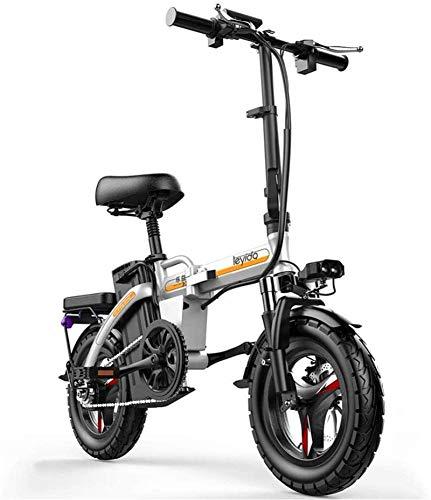 Bicicletas Eléctricas, Bicicletas rápidas y Eléctrica en adultos plegable portátil híbrido eléctrico...