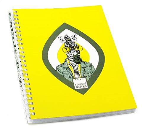 MAKENOTES MN-MOT25-A5 A5 Notebook - Portrait (Zebra) - Collection