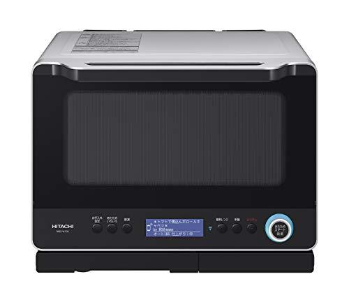 日立 スチームオーブンレンジ 30L スマートフォン連携 ダブル高速ヒーター熱風2段オーブン 過熱水蒸気 Wス...
