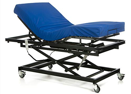 Ferlex - Cama articulada con Carro Elevador | Colchón Sanitario viscoelástico (90x190)