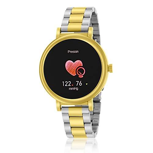 Reloj Smartwatch Marea B61002/4 Mujer Bicolor