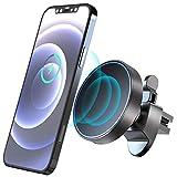 Gahwa Cargador de Coche Inalámbrico Magnético para Samsung Galaxy S20 Ultra/S20/S10/S10+/Galaxy Note 20/Note 10, Carga Rápida Inalámbrica QI para iPhone 12 series/11/11 Pro MAX/XS/XR/XS Max/8/8 Plus
