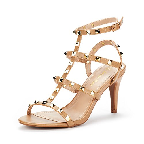 DREAM PAIRS Heroinee Open Toe Heeled Sandals