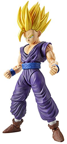 BANDAI – Figure-Rise Dragon Ball Z Super Saiyan 2 Gohan Model Kit, 4549660090618