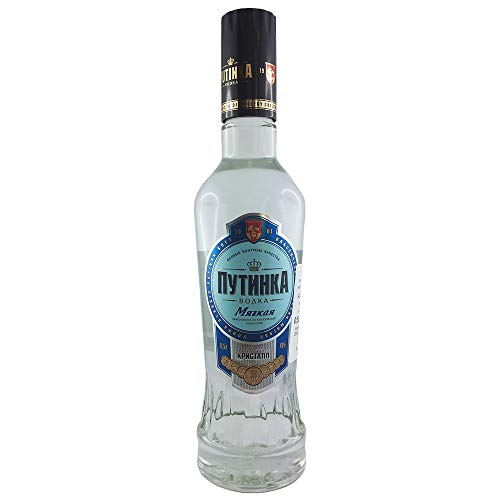 Vodka Putinka mild 0,5L echter russischer Wodka