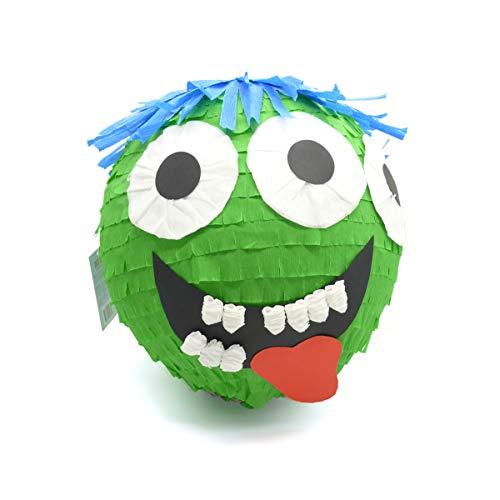 Nislai® Pinata de Monstruo   Ideal para la Fiesta de Monstruo   Regalo de cumpleaños   piñata de cumpleaños   Juego de piñata   Fiesta Espeluznante   Aprox. 30x30x30 cm