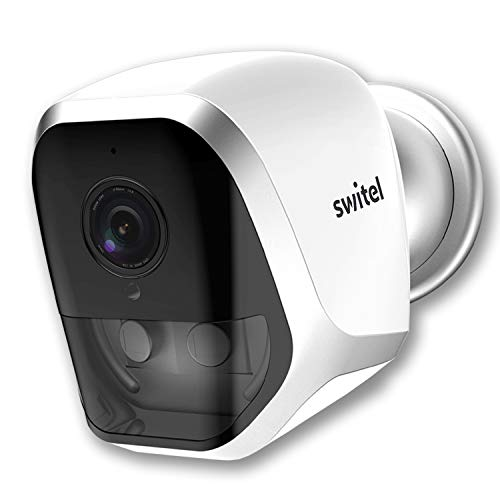 Switel COIP200B, kabellose IP WLAN Kamera mit Fernzugriff und Gegensprechfunktion zur Videoüberwachung mit Videoaufzeichnung und Alarmfunktion