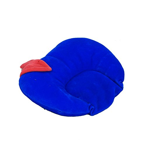 Kouber Industries de moutarde (Rai) Taie d'oreiller – en forme de pomme (velours), bleu