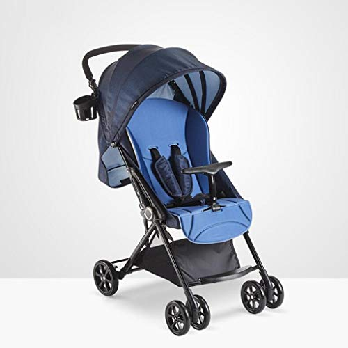Buy Discount MEI Baby Trolley Baby Stroller High Landscape Can Sit Horizontal Portable Folding 4 Whe...