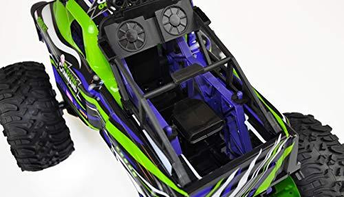 Amewi 22476 Green Command Big Monstertruck 1:10, RTR, ferngesteuertes Fahrzeug, Grün