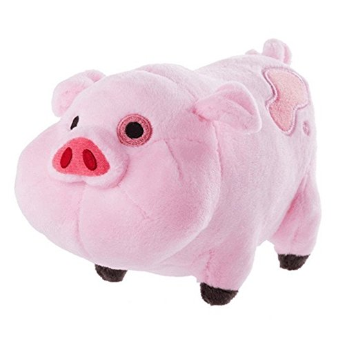 Gravity falls Waddles Pig Mabel Barfing Gnome Plushes Dolls Kids Toy 7' with Tag (Waddles Pig)