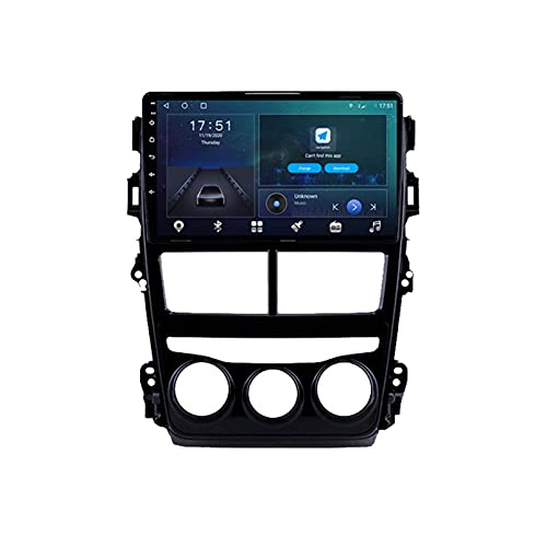 Android 10.0 Dsp Coche Radio Multimedia Player para Toyota Corolla 140 E150 2006-2013 Video Navigation GPS 4g + 64g WiFi Estéreo 720p(Size:Opciones A-Quad-Core,Color:WiFi:2GB+32GB)