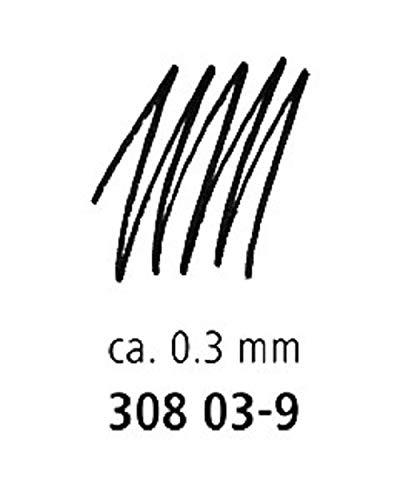 Staedtler Pigment Liner, 0.3mm, Black Ink (308-0.3) Photo #4