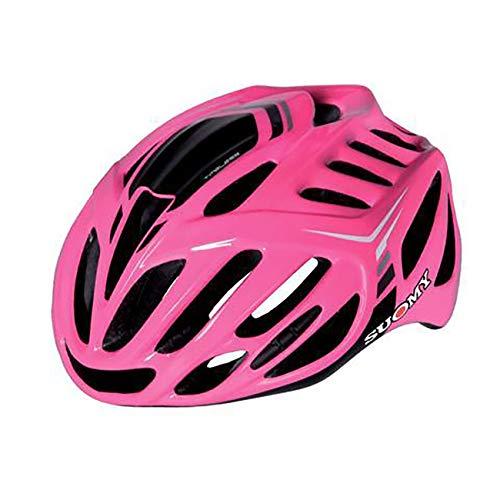 Suomy Casco Bici Timeless Fucsia / 3antracite Taglia M (Caschi MTB e Strada) / Road Helmet Timeless Fuxia / 3anthracite Size M (MTB And Road Helmet)
