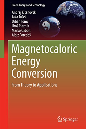 Magnetocaloric Energy Conversion: From Theory to Applications (Green Energy and Technology)