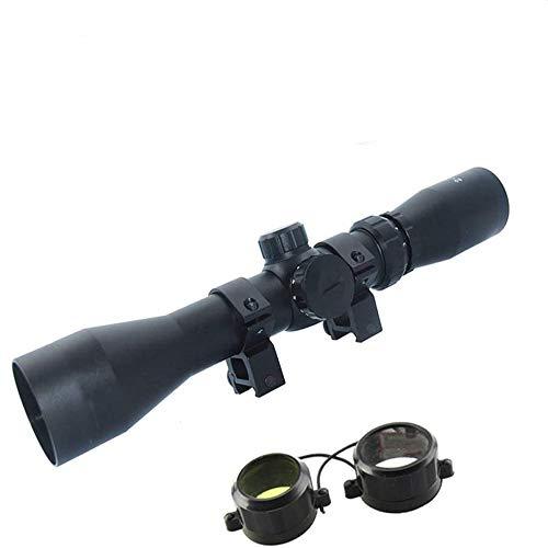 Ddartsgo, Zielfernrohr für die Jagd, 2-7x42, mit Rot- und Grün-Beleuchtung, Mil-Dot-Zielfernroh