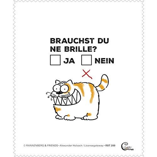 Brillenputztuch - Katze -