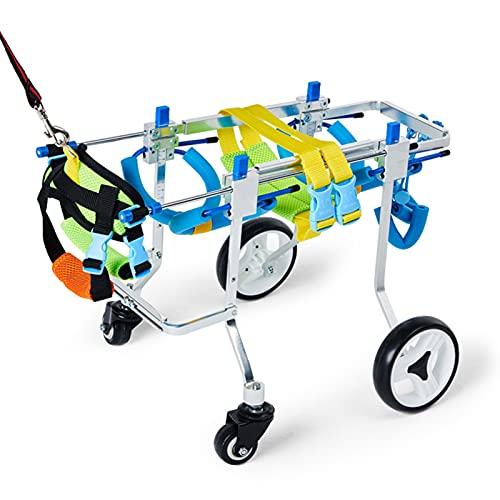 HXXXIN Hunderollstuhl Haustier Rollstuhl...
