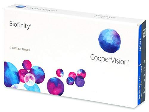 CooperVision Biofinity Monatslinsen, 6 Stück / BC 8.60 / DIA 14.00 / +2.75 Dioptrien