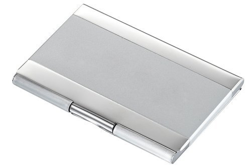 Visol Products Cyclone Two-Tone Business Card Holder by Visol