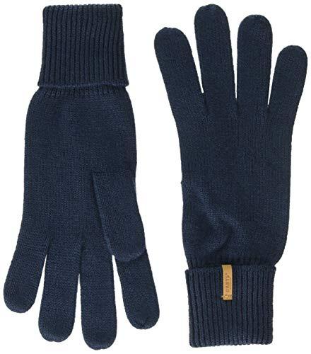 Barts Damen Fine Knitted Glove Handschuhe, Blau (0003-NAVY 003L), Medium