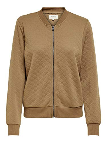 Only ONLJOYCE LS Bomber Noos Chaqueta, Coconut Toasted, S para Mujer
