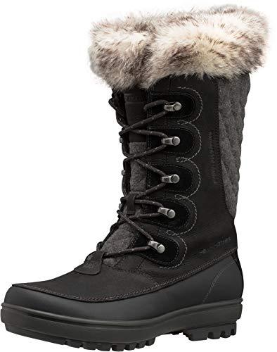 Helly-Hansen Womens Garibaldi VL Waterproof Winter Boot, 991 Jet Black/Jet Black/Charcoal, 7.5