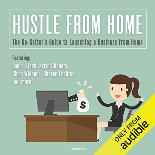 Hustle from Home audiobook cover art