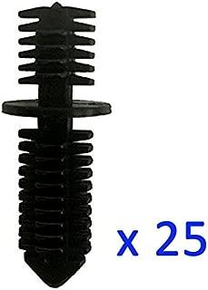 Kalanution 25 Double End Xmas Tree Retainers Clips 11/32
