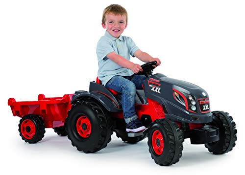 Smoby 710200 Stronger XXL Tractor a pedales con...