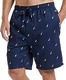 Nautica Men's Woven Sleep Jam Short, Maritime Navy, X-Large