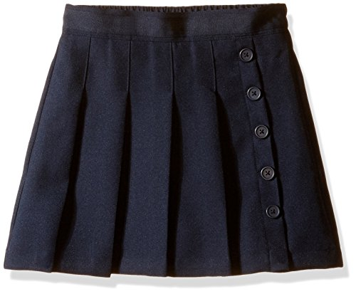 Nautica Girls' Big School Uniform Pleated Scooter, Navy, 7