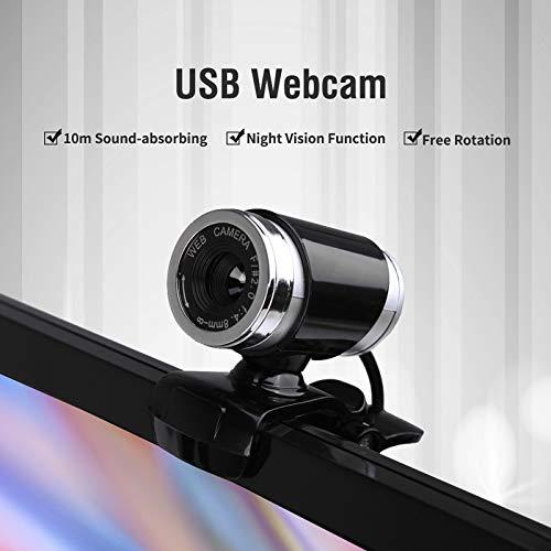 docooler USB 2.012Megapíxeles HD Cámara Web Cam con micrófono para Samsung Galaxy S3MINI i8190360grados para Escritorio Skype computadora PC portátil