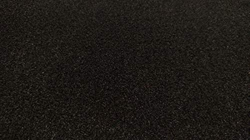 by The Yard Black- Auto One Premium Automotive Carpet Upholstery Fabric 80