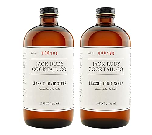 Jack Rudy Classic Tonic Syrup 16 oz (2-pack)