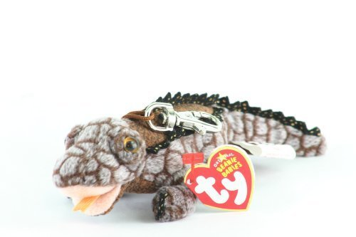 TY Beanie Baby - BALI the Komodo Dragon ( Metal Key Clip - Shedd Aquarium Exclusive) by Ty