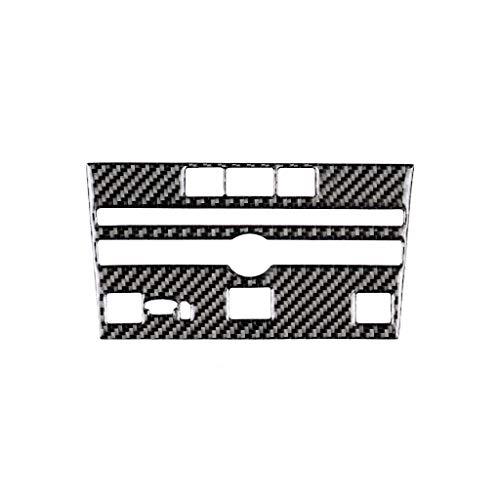 Adesivi per modanature interni auto Fibra di carbonio dell'automobile di modo CD Console Pannello adesivo decorativo è adatto a Infiniti Q50 / Q60